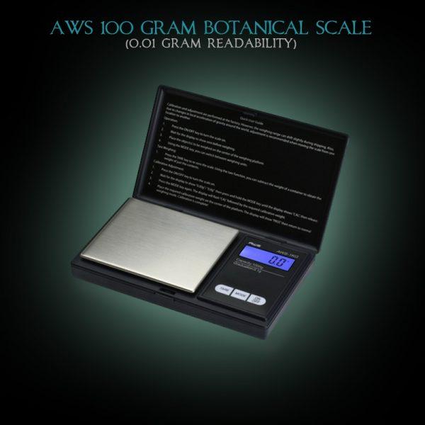 AWS 100 gram Botanical Scale - 0.01 gram Readability