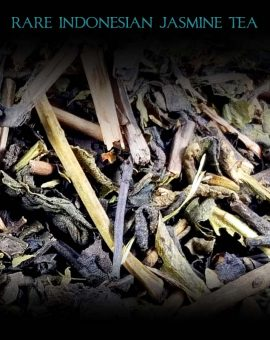 rare indonesian jasmine tea loose leaf
