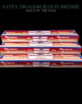 Dragons Blood Incense Sticks Satya India