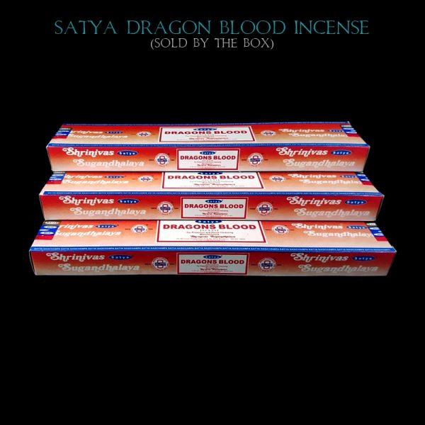 Dragons Blood Incense Sticks Satya India