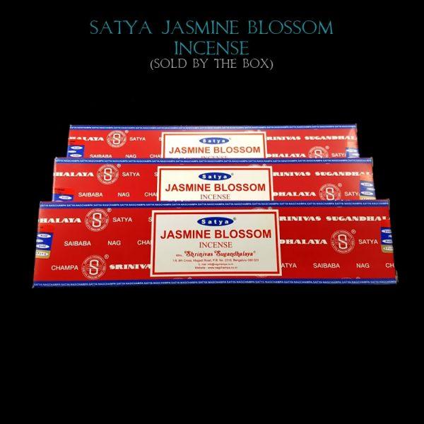 Jasmine Blossom Incense Sticks, Satya Nag Champa, India, Saibaba