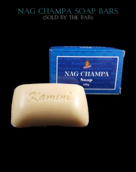 Nag Champa Incense Fragrance Natural Soap Bars, Kamini