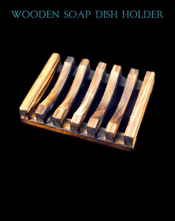 Wooden Soap Bar Holder, Perfect For Herbal Soaps