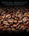 Wintry Mix Blend, Medium Roast, Cinnamon, Cloves, Pumpkin Spice, Flavored Coffee